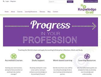 knowledgegrab.com screenshot
