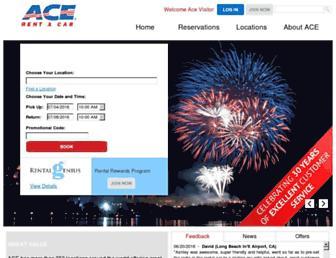 acerentacar.com screenshot
