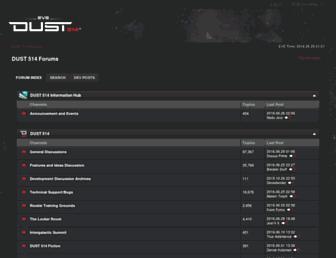forums.dust514.com screenshot
