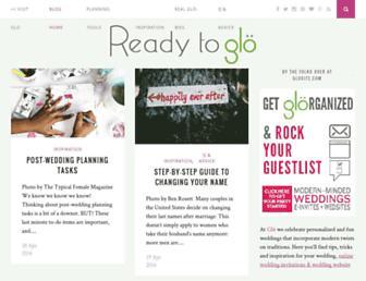 glo-bride.com screenshot