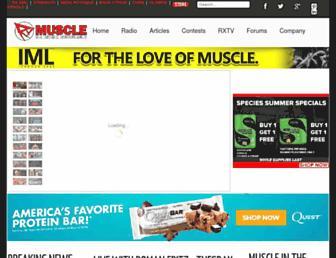 Thumbshot of Rxmuscle.com