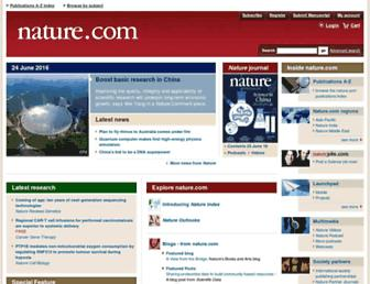 nature.com screenshot