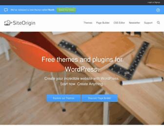 Thumbshot of Siteorigin.com