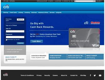 Thumbshot of Citibank.com