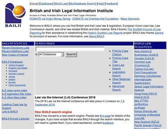 Thumbshot of Bailii.org