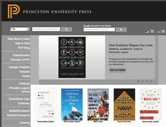 press.princeton.edu screenshot