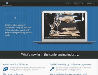 conven.co.za screenshot