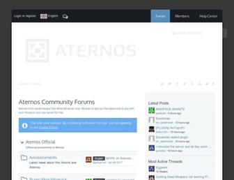 board.aternos.org screenshot