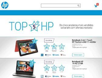 lojahp.com.br screenshot