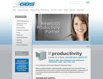 gbscorp.com screenshot