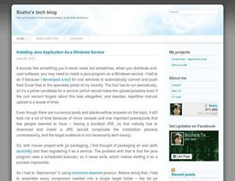techblog.bozho.net screenshot