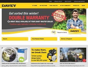 davey.com.au screenshot