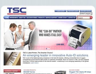 tscprinters.com screenshot