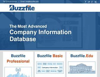 buzzfile.com screenshot