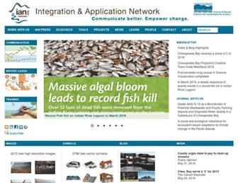 ian.umces.edu screenshot