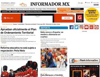 Thumbshot of Informador.com.mx