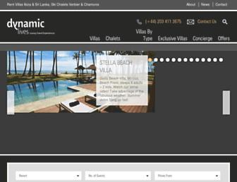 dynamiclives.com screenshot