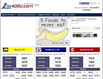 Thumbshot of Live4d2u.com