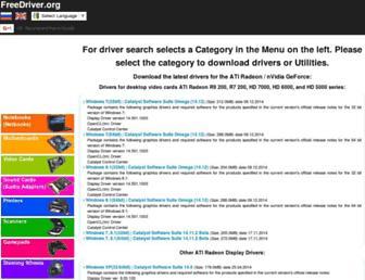 freedriver.org screenshot
