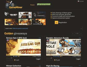 Thumbshot of Gameminer.ru