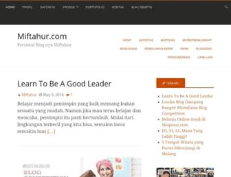 miftahur.com screenshot