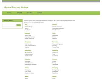 Thumbshot of Generaldirectorylistings.org