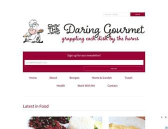 daringgourmet.com screenshot