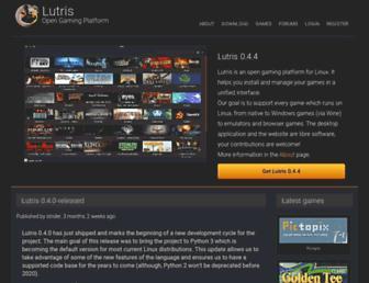 lutris.net screenshot