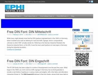 Thumbshot of Ephifonts.com
