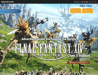 na.finalfantasyxiv.com screenshot