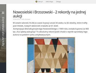 agraart.blox.pl screenshot