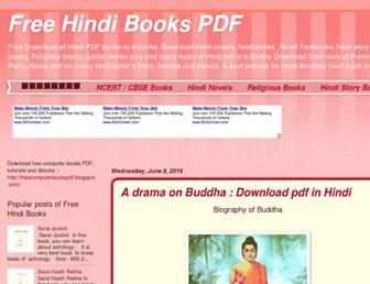 freehindibooksforyou.blogspot.com screenshot