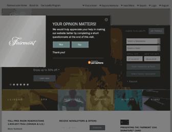 Thumbshot of Fairmont.com