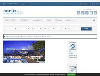 Thumbshot of Domusvenari.com