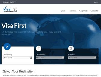 Thumbshot of Visafirst.com