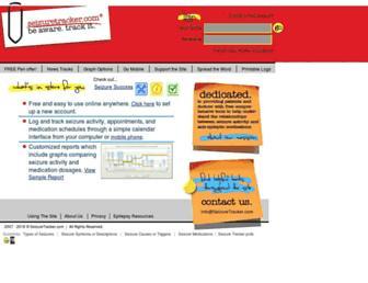 seizuretracker.com screenshot