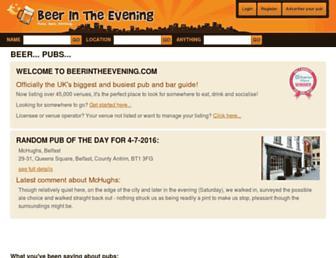 Thumbshot of Beerintheevening.com