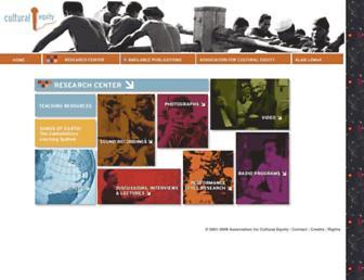 research.culturalequity.org screenshot