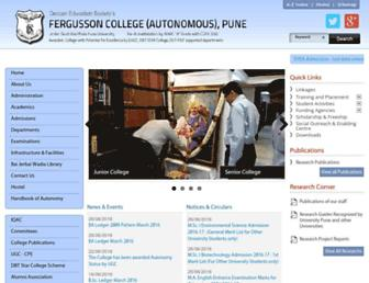 Thumbshot of Fergusson.edu