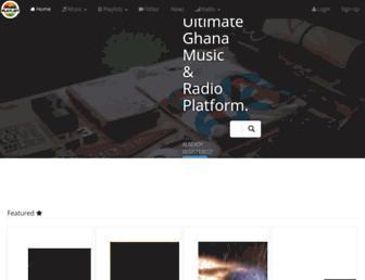 ghanaplaylist.com screenshot