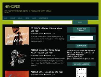 hiphopde.com screenshot