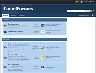 cometforums.com screenshot