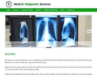 medlifeds.com screenshot