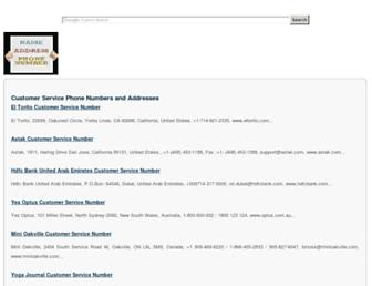 findphonenumberaddress.com screenshot