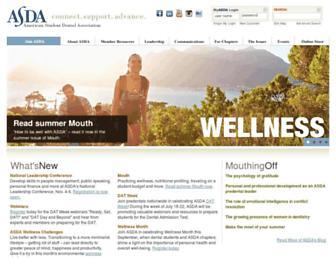 asdanet.org screenshot