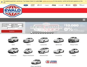 ewaldauto.com screenshot