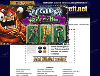 Thumbshot of Werbebrett.net