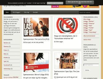 Main page screenshot of dynamicman.net