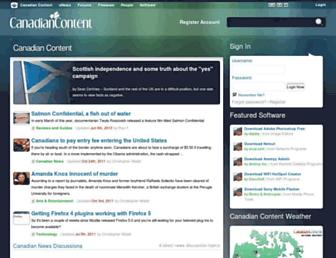 canadiancontent.net screenshot