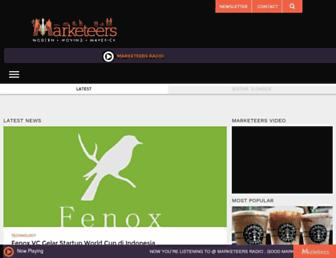marketeers.com screenshot